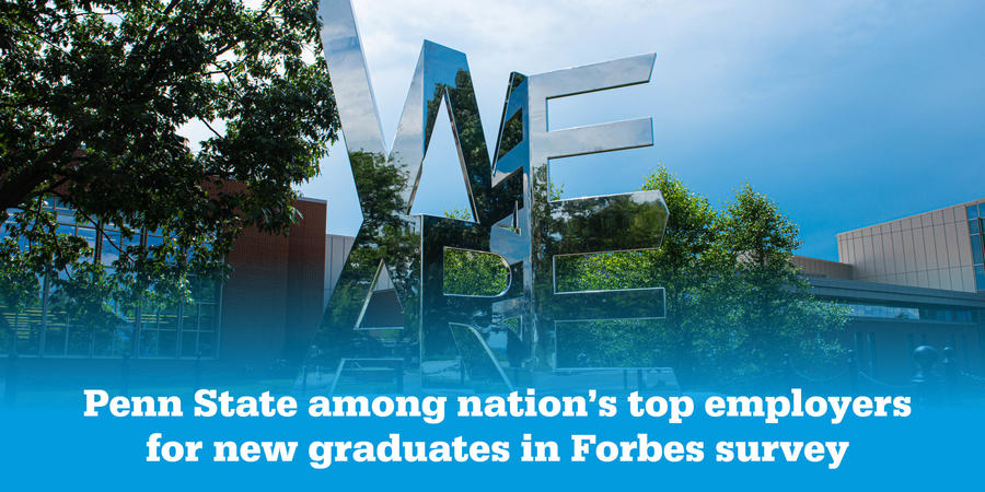 Penn State Ranked Top Employer for New Grads