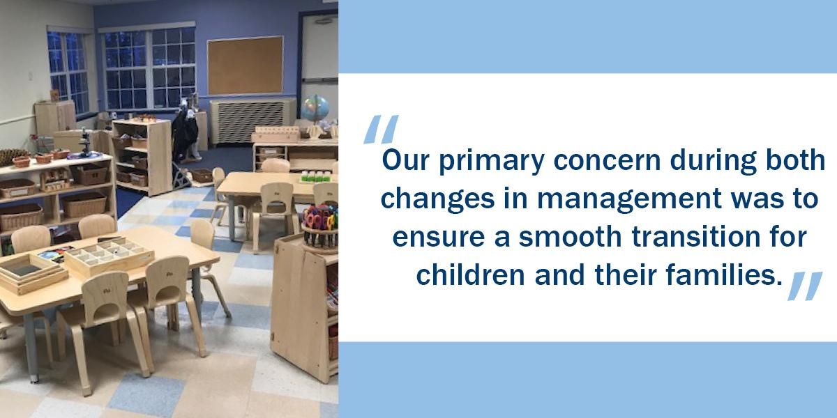 Child Care Center Transitions to Bright Horizons