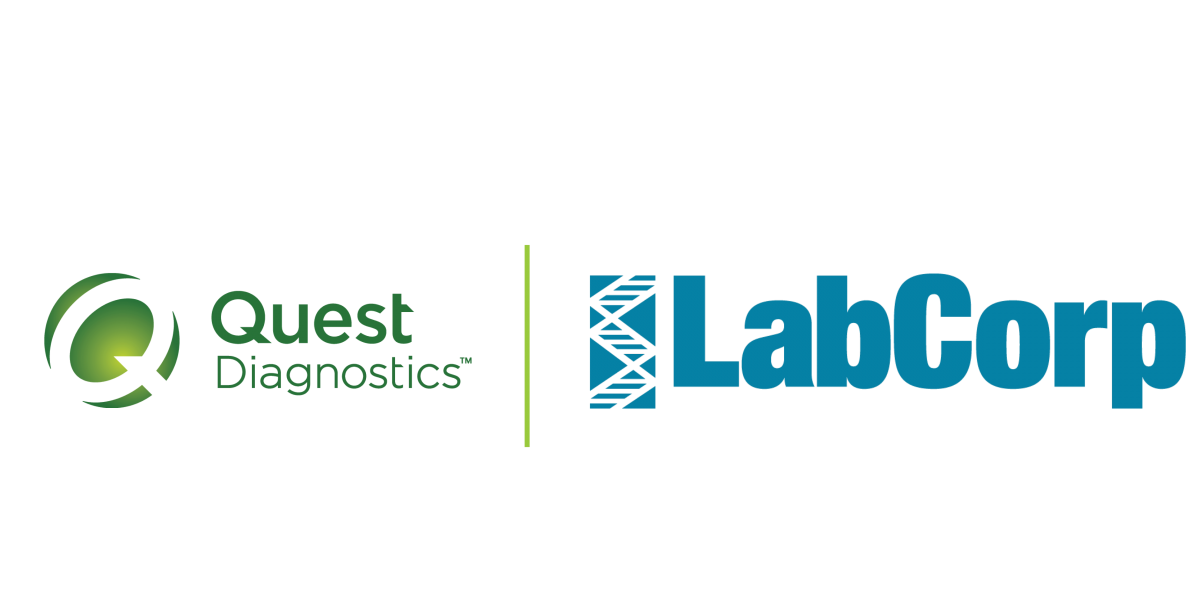 Quest and LabCorp Logo
